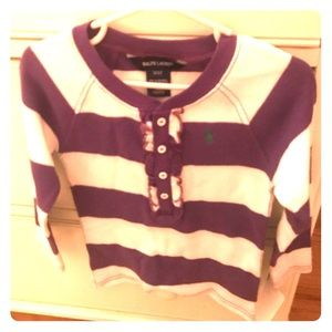 NWT Ralph Lauren Toddler Thermo Long Sleeve